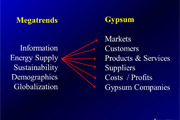 Megatrends in Gypsum